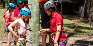 Ropes Course Briefing by fully qualified staff